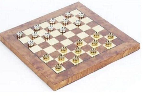 Bello Games Eleganza Checkers Set