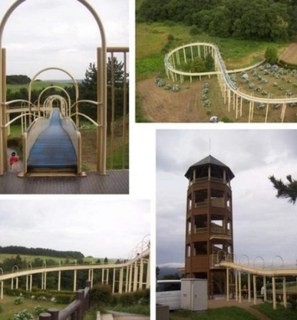 The Worlds Longest Playground Slide