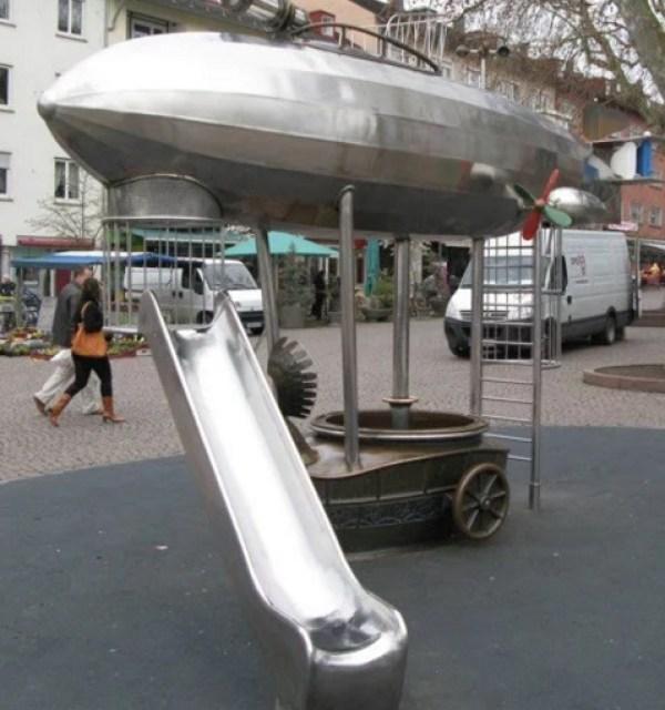 Steampunk Children's Playgrounds