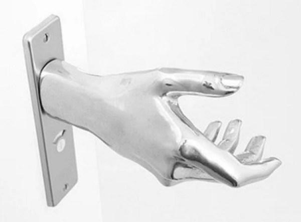 Hand shaped Door Handle