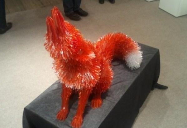 Marta Klonowska: Glass Animals (fox)
