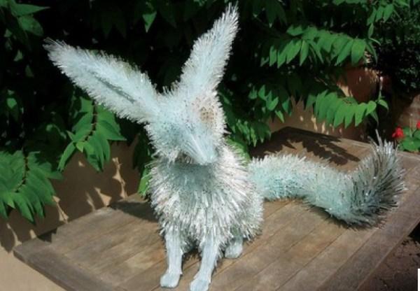Marta Klonowska: Glass Animals (fennic fox)
