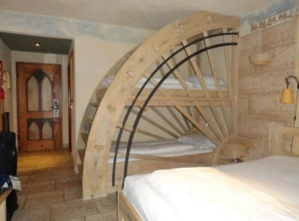 Water wheel Bunk Bed