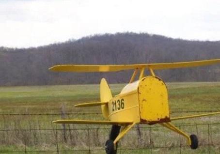 Plane Mailbox