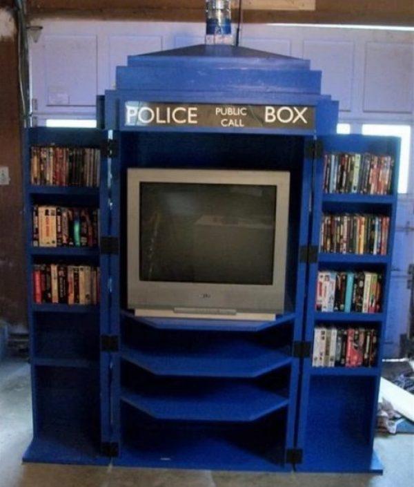 TARDIS TV cabinet