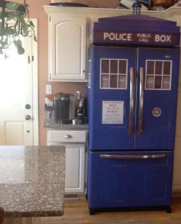 Tardis Style Fridge/Refrigerator