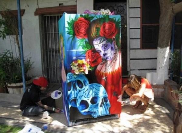 Art Style Fridge/Refrigerator