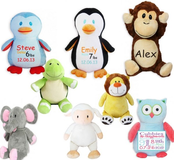 Ten Fun and Personalised Birth Announcement Gift Ideas
