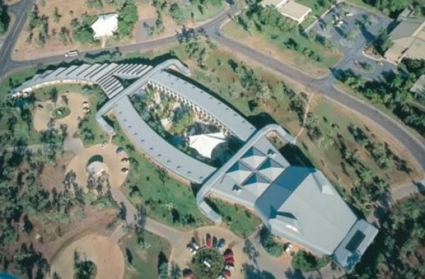 Building That Looks Like a crocodile
