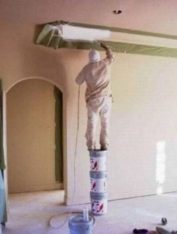Who needs ladders when you have Tubs