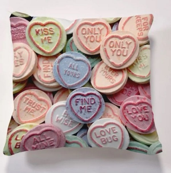 Iconic Love Heart Cushion
