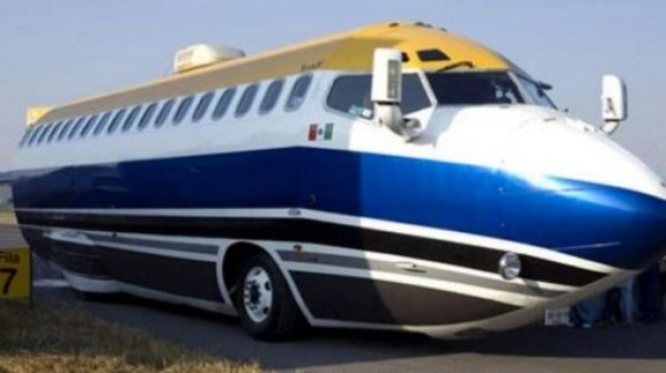 Airplane turned into Limo