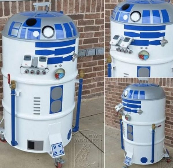 R2-D2 Inspired BBQ Grill