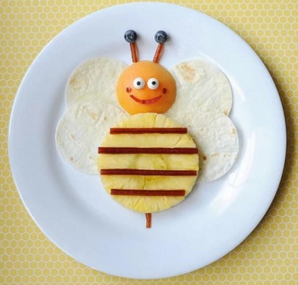 Bee summer snack