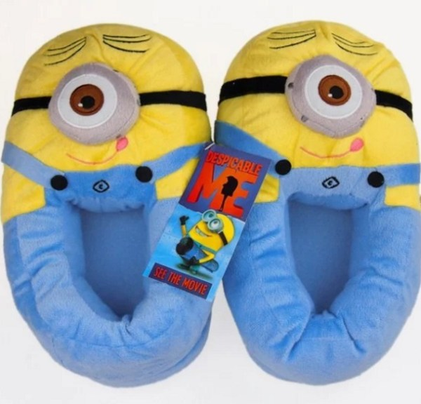 Despicable Me: Minions inspired slippers