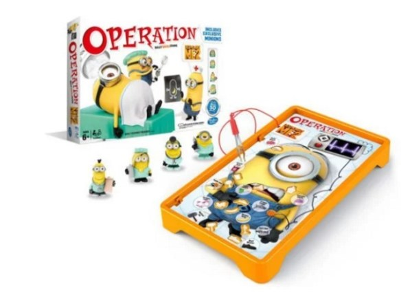 Despicable Me: Minions inspired operation board game