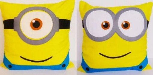 Despicable Me: Minions inspired cushions