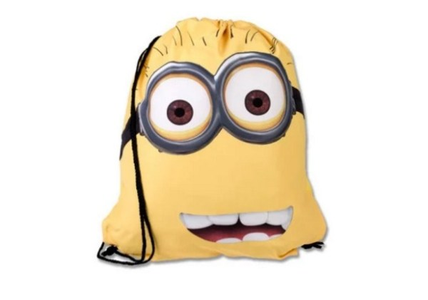 Despicable Me: Minions inspired Drawstring Backpack