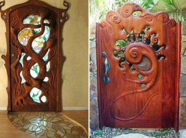 Mystical Tree inspired door
