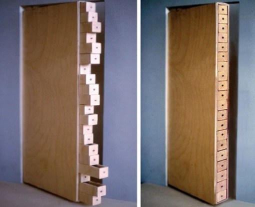 Secret Storage inspired door