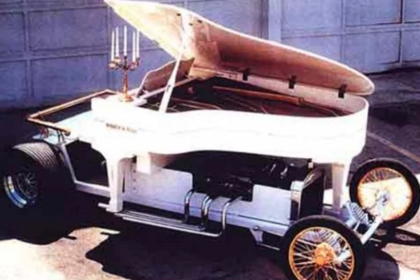 Piano Turned into car