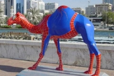 Ten Animals in Spiderman Costumes Who Love Slinging Webs