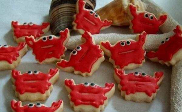 Mini Crab Cookies