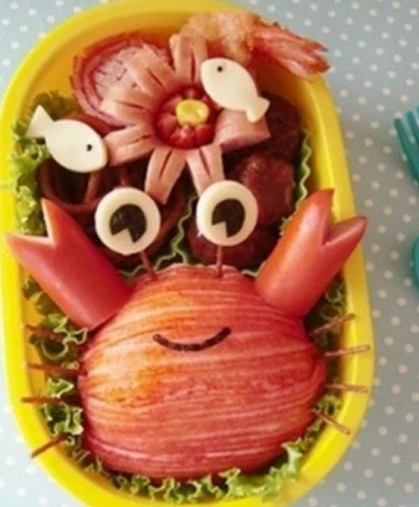 Crab Bento Box