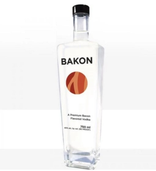 Bacon inspired Vodka