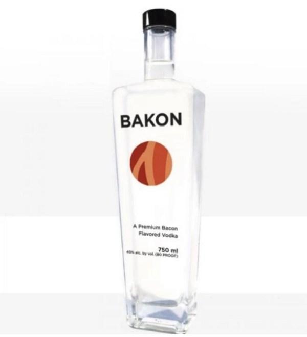 Bacon inspired Vodka