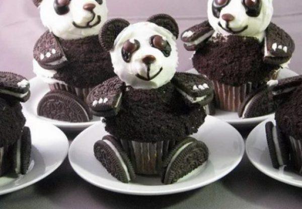 Panda Inspired Cupcakes