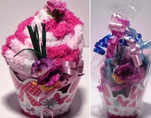 Cupcake Inspired Sock Gift Set