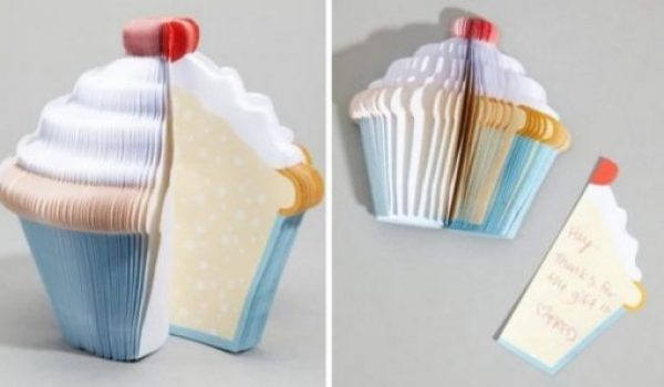 Cupcake Inspired Post-it notes