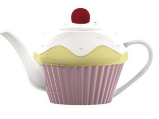 Cupcake Inspired Tea-Pot
