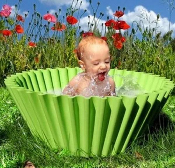 Cupcake Inspired Paddling Pool