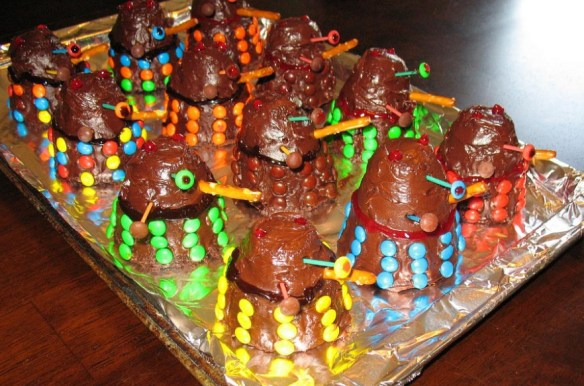 Top 10 Dalek Themed Doctor Who Party Foods