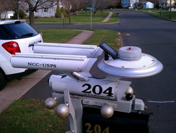 Ten Things That Look Like the USS Enterprise from StarTrek