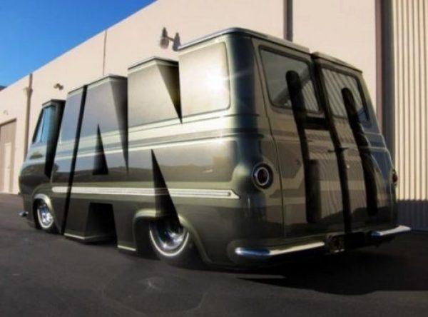 VanGo themed Modified Van
