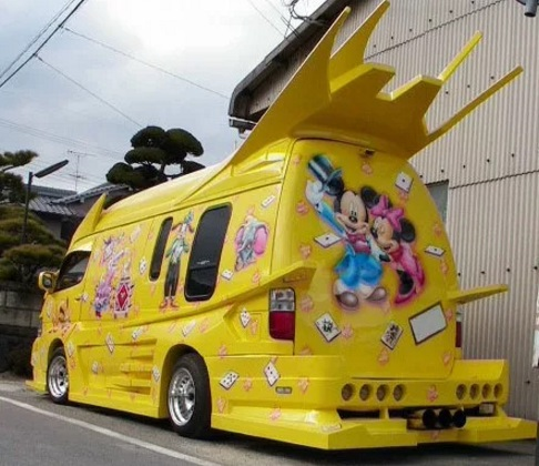 Disney themed Modified Van
