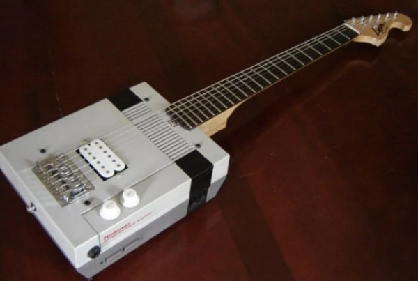 NES Custom Made Guitar