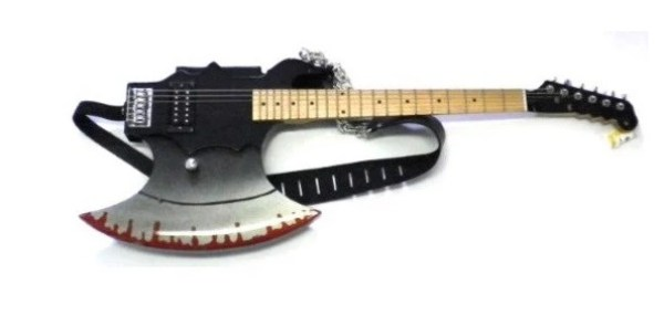 Axe Inspired Guitar