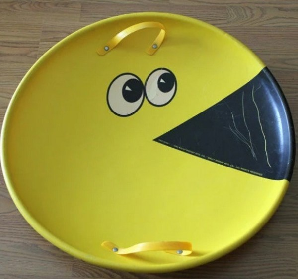 Pacman Saucer Sled
