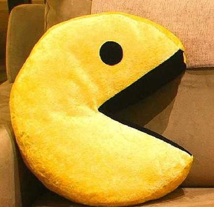 Pacman Pillow/Cushion