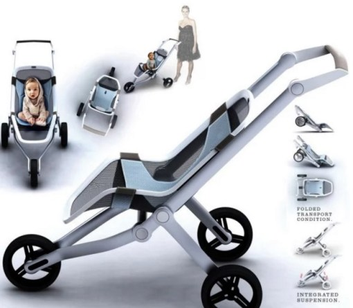 Modern Baby Buggy