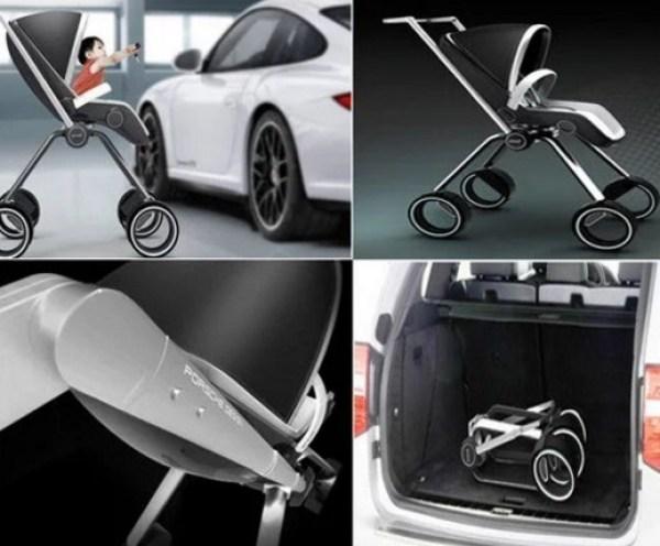 Porsche baby stroller