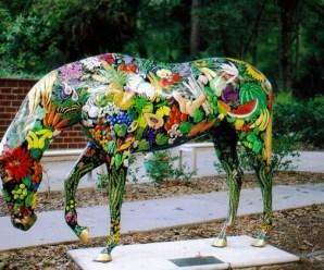 Ten Great Photos of Ocala Painted Horses Any Artist Will Love