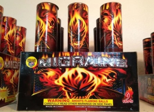The Migraine Firework