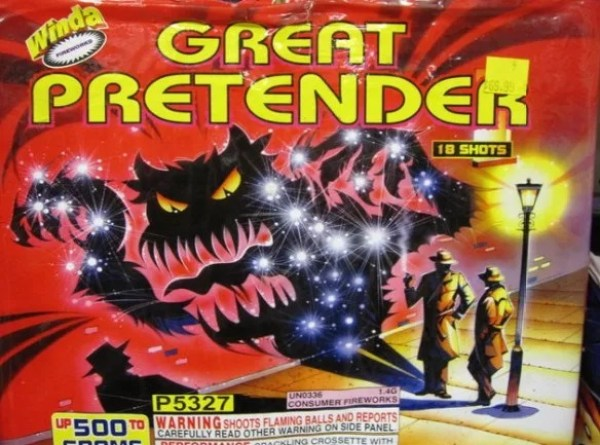 The Great Pretender Firework