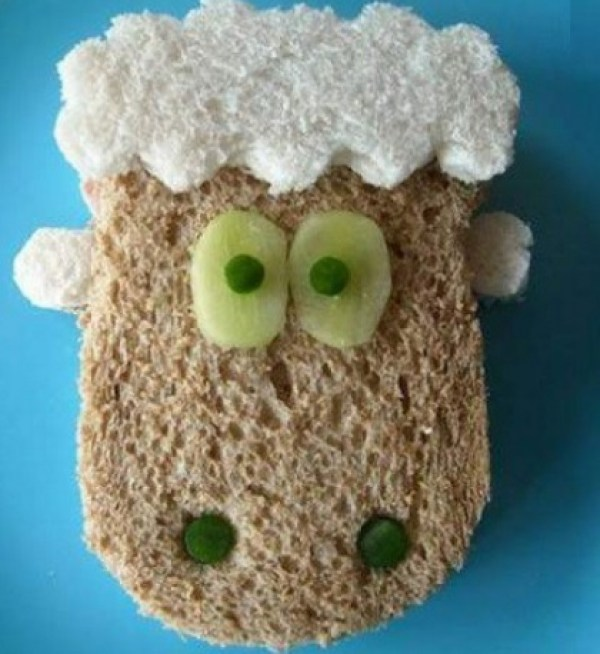 Sheep Inspired Sandwich