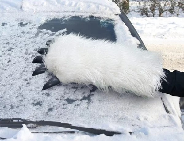 Yeti Styled Ice Scraper for car windows